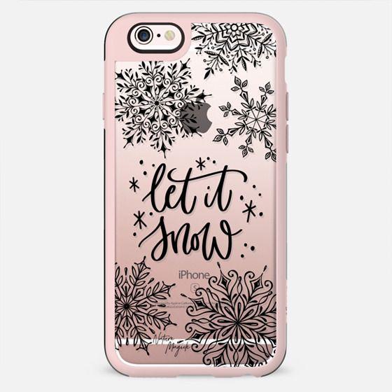 Let it Snow by Nature Magick - Black