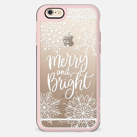 Merry and Bright by Nature Magick - White - New Standard Case