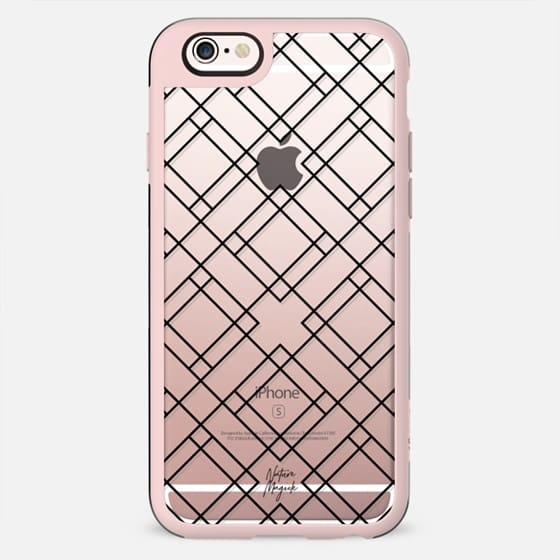 Modern Sophistication by Nature Magick - Black + Clear - New Standard Case