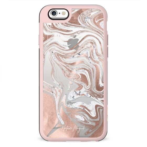Rose Gold Marble Swirl by Nature Magick