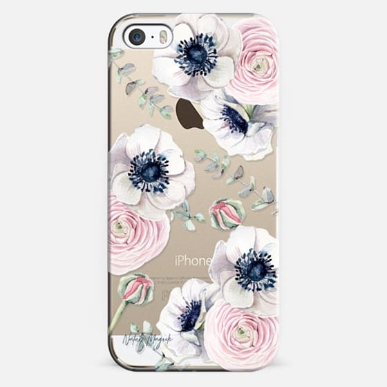 iPhone 5s Capa - Blossom Love by Nature Magick - Clear Case