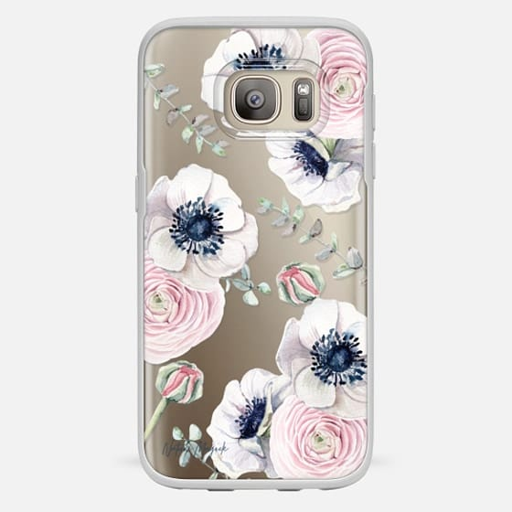 Galaxy S7 Capa - Blossom Love by Nature Magick - Clear Case