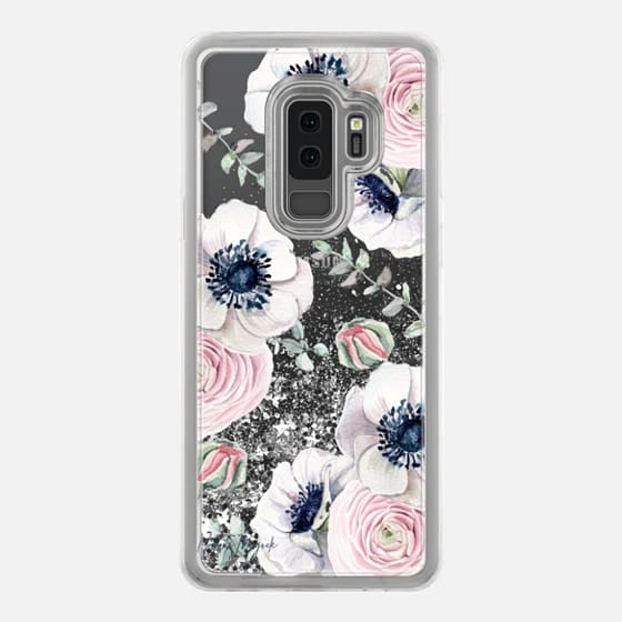 Galaxy S9+ Case - Blossom Love by Nature Magick - Clear Case