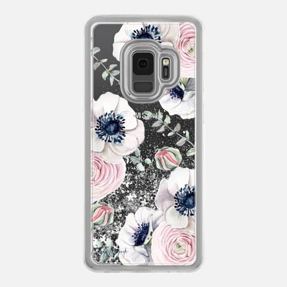 Galaxy S9 Case - Blossom Love by Nature Magick - Clear Case