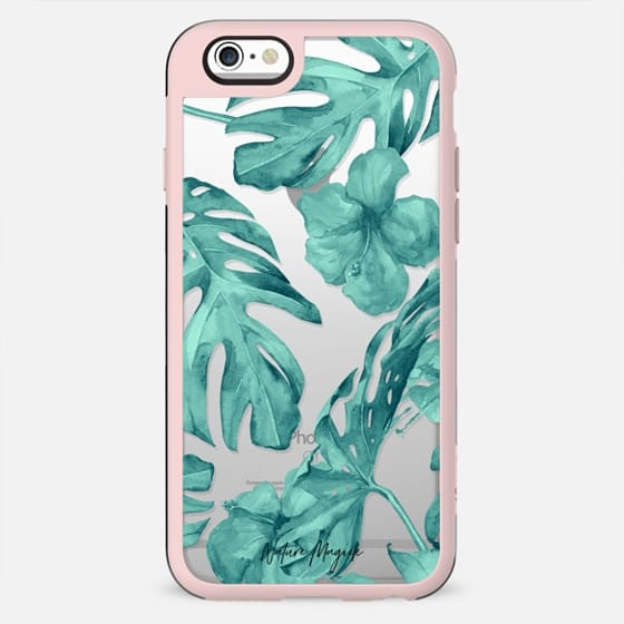 Island Garden Teal by Nature Magick - New Standard Case