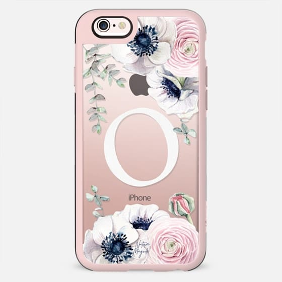 Blossom Love Monogram by Nature Magick - Letter O - New Standard Case