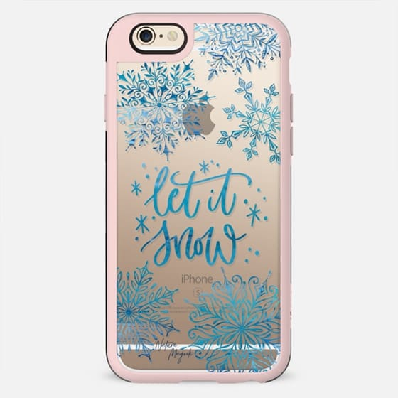 Let it Snow by Nature Magick - Blue - New Standard Case