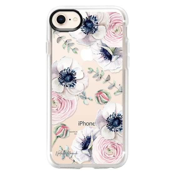 iPhone 8 เคส - Blossom Love by Nature Magick - Clear Case