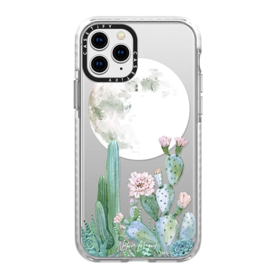 iPhone 11 Pro Cases - Desert Nights by Nature Magick - Cactus Cacti and Succulents Clear Case