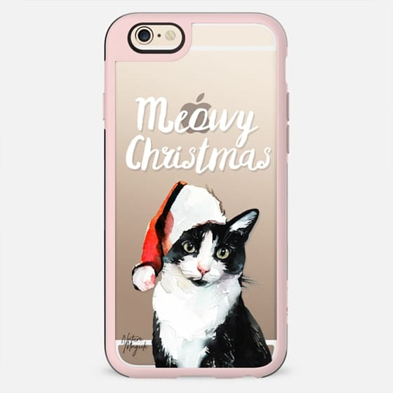 Meowy Christmas by Nature Magick - White - New Standard Case