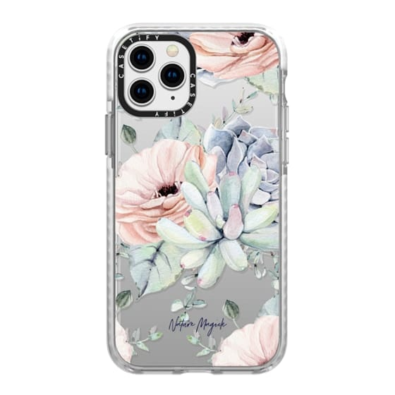 iPhone 11 Pro Cases - Pretty Succulents by Nature Magick