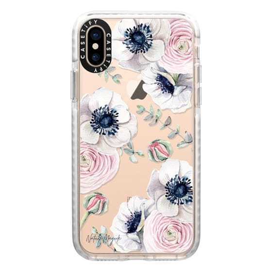 iPhone XS Cases - Blossom Love by Nature Magick - Clear Case