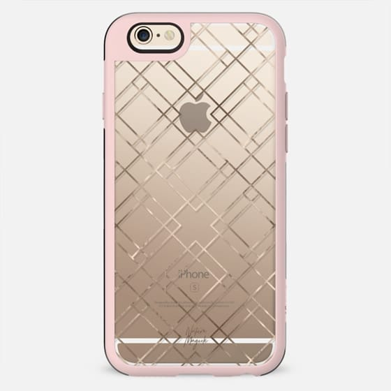 Gold Geometric by Nature Magick - New Standard Case