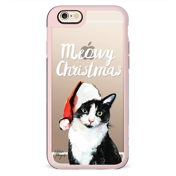Meowy Christmas by Nature Magick - White