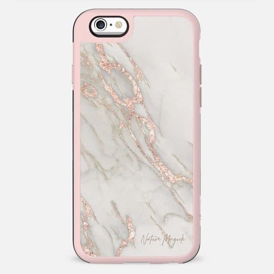 Rose Gold Marble by Nature Magick - New Standard Case