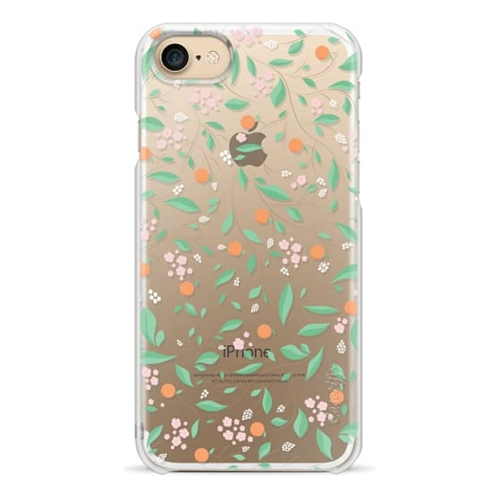 iPhone 7 Cases - Orange Blossoms