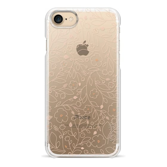 iPhone 7 Cases - Peach Blossoms