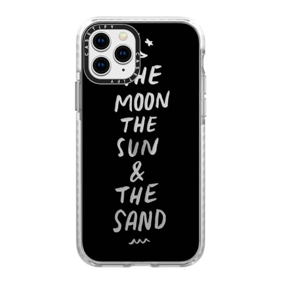 iPhone 11 Pro Cases - Moon and Sun 2 by Push Print Studio