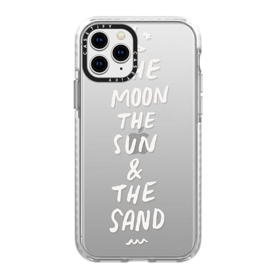 iPhone 11 Pro Cases - Moon and Sun by Caytlyn Chilelli - Push Print Studio