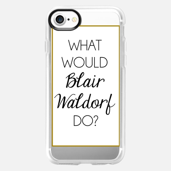 What Would Blair Waldorf Do? - Wallet Case