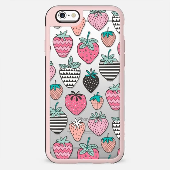 Strawberry Strawberries Geometric Patterned - New Standard Case