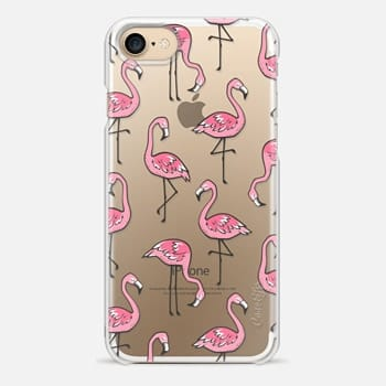 iPhone 7 Case Flamingos