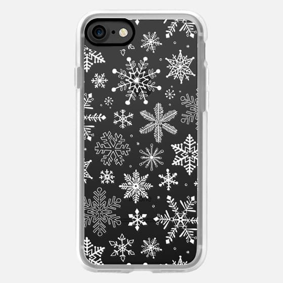Snowflakes Winter White -