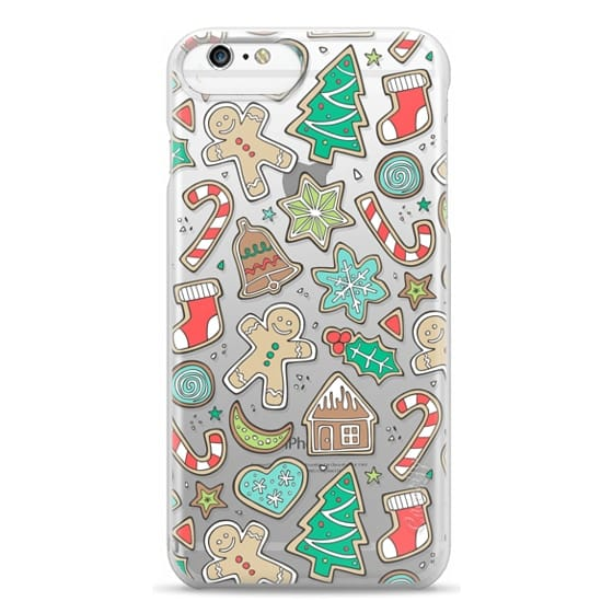 iPhone 6 Plus Cases - Christmas Xmas Holiday Gingerbread Man Cookies Winter Candy Treats