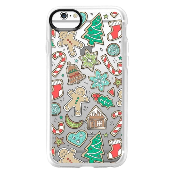 iPhone 6 Cases - Christmas Xmas Holiday Gingerbread Man Cookies Winter Candy Treats
