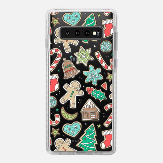 Samsung Galaxy / LG / HTC / Nexus Phone Case - Christmas Xmas Holiday Gingerbread Man Cookies Winter Candy Treats