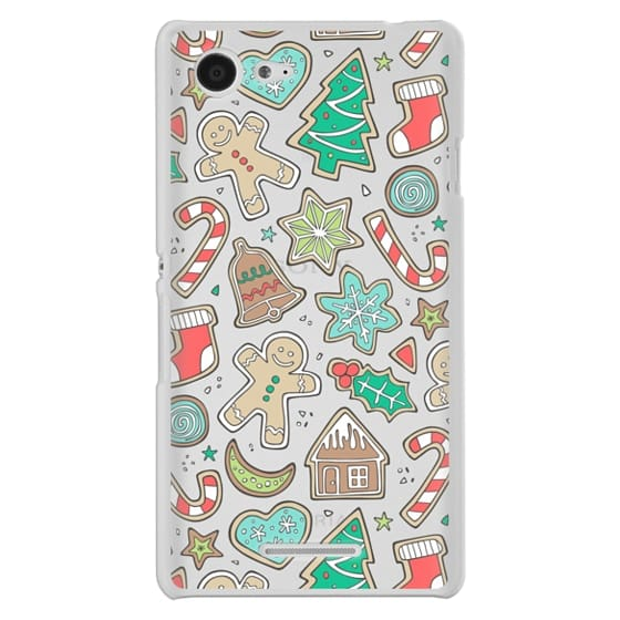 Sony E3 Cases - Christmas Xmas Holiday Gingerbread Man Cookies Winter Candy Treats