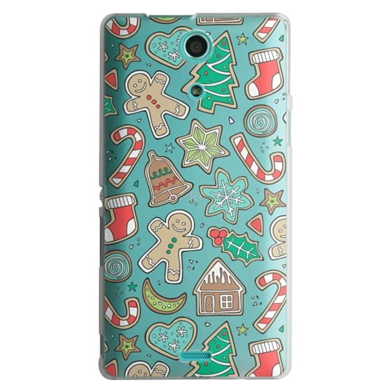 Sony Zr Cases - Christmas Xmas Holiday Gingerbread Man Cookies Winter Candy Treats