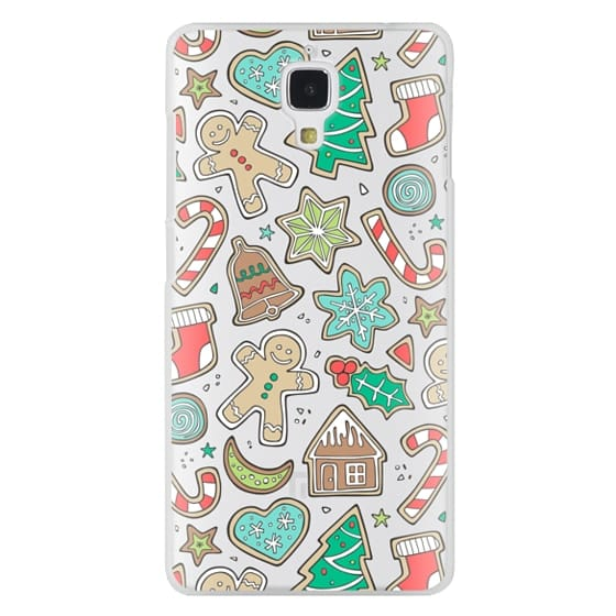 Xiaomi 4 Cases - Christmas Xmas Holiday Gingerbread Man Cookies Winter Candy Treats