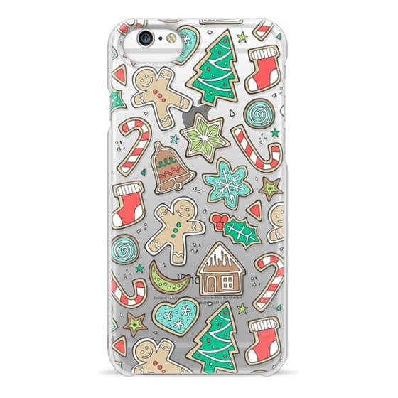 iPhone 6s Cases - Christmas Xmas Holiday Gingerbread Man Cookies Winter Candy Treats