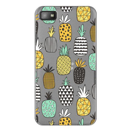 Blackberry Z10 Cases - Pineapple Geometric Patterned