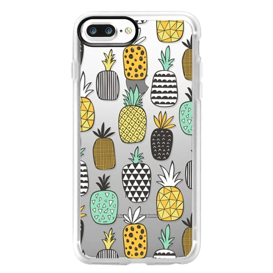 iPhone 7 Plus Cases - Pineapple Geometric Patterned