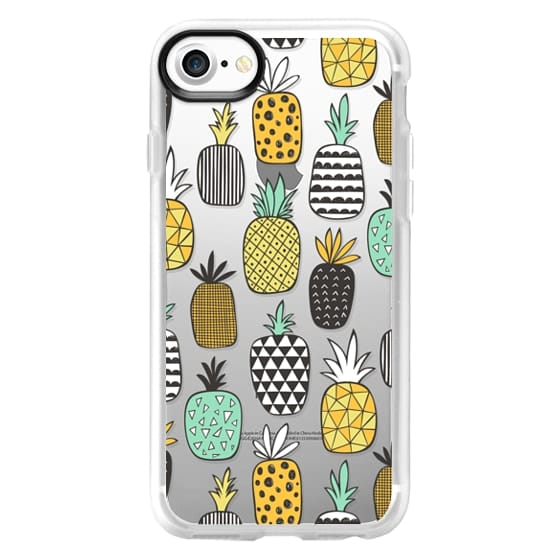 iPhone 7 Cases - Pineapple Geometric Patterned