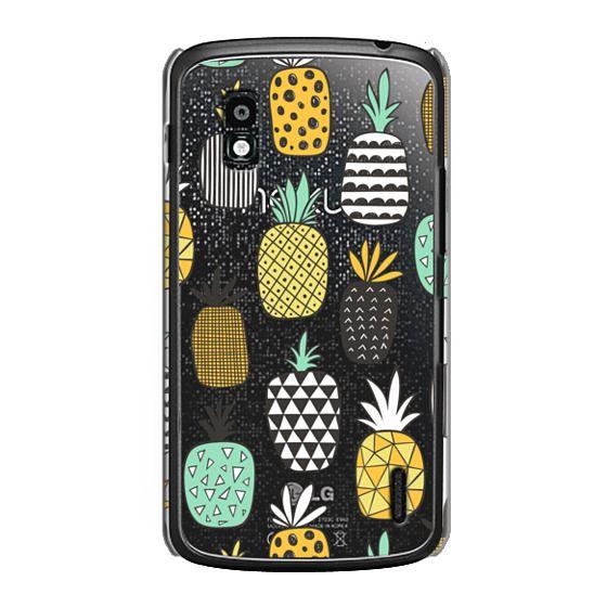 Nexus 4 Cases - Pineapple Geometric Patterned