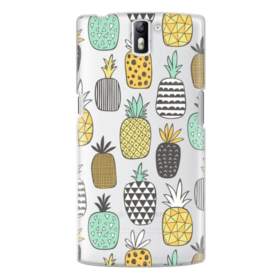 One Plus One Cases - Pineapple Geometric Patterned
