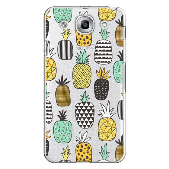 Optimus G Pro Cases - Pineapple Geometric Patterned
