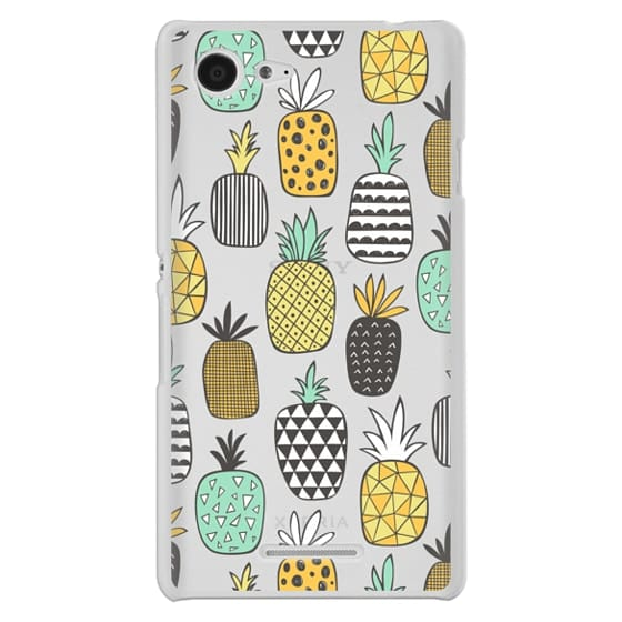 Sony E3 Cases - Pineapple Geometric Patterned