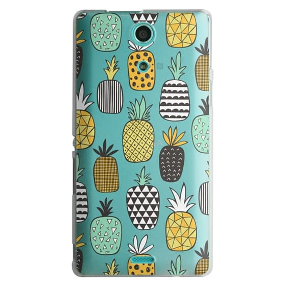 Sony Zr Cases - Pineapple Geometric Patterned