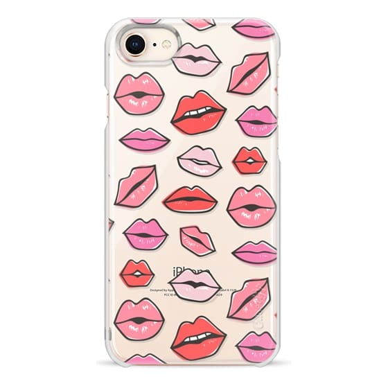 iPhone 8 Cases - Lips Kisses