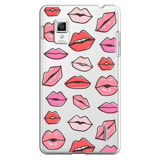 Optimus G Cases - Lips Kisses