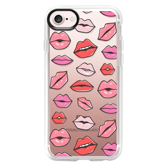 iPhone 7 Cases - Lips Kisses