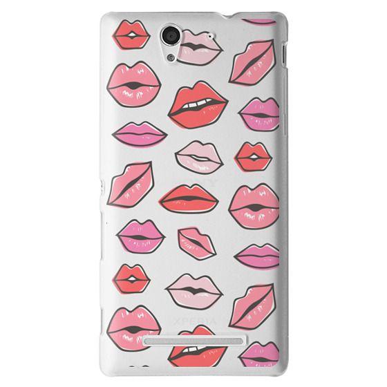 Sony C3 Cases - Lips Kisses