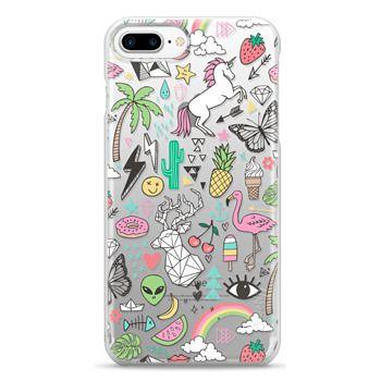 Snap iPhone 7 Plus Case - Summer Time Doodle