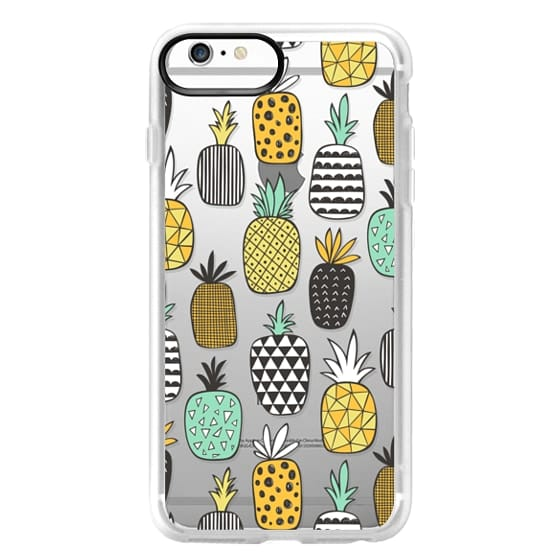 iPhone 6s Plus Cases - Pineapple Geometric Patterned