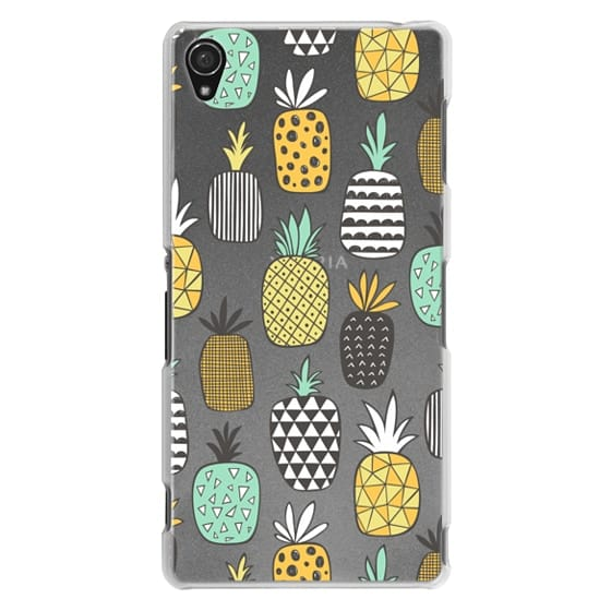Sony Z3 Cases - Pineapple Geometric Patterned