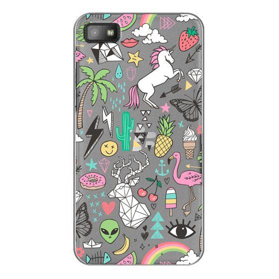 Blackberry Z10 Cases - Summer Time Doodle